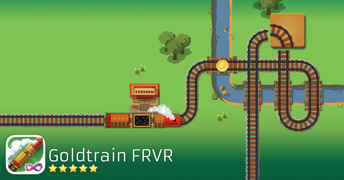 Play Gold Train FRVR - Gold Train FRVR - Connect the Tracks
